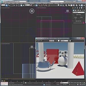 3ds Max 2D ve 3D Hazır Nesneler